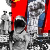 Cartel para el Día Internacional de las Mujeres 2018. Un proyecto de Diseño gráfico y Collage de Nuriet García - 08.03.2018