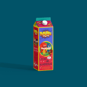 Packaging Milk Superheroes. Un projet de Design , Design graphique , et Packaging de Marrow Design - 08.03.2018