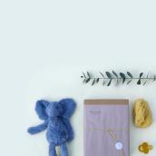 Identidad visual handmade de Babylua. Un proyecto de Diseño, Br, ing e Identidad y Packaging de Laura Avivar - 15.03.2018