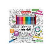 Color your World!. Un proyecto de Ilustración de Marina Lezcano - 07.01.2016