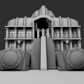 Metrópolis (proyecto personal). Un progetto di Motion Graphics, 3D, Animazione, Postproduzione, Cinema, Video , e Animazione di personaggi di Víctor Garay - 31.03.2018