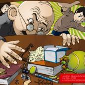 Ilustraciones. Un proyecto de Ilustración, Diseño de personajes, Diseño editorial e Ilustración vectorial de Jonathan Albarracin Fernandez - 10.04.2018