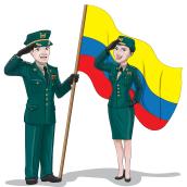 Fuerzas Armadas De Colombia. Un proyecto de Ilustración e Ilustración vectorial de Jonathan Albarracin Fernandez - 10.04.2018
