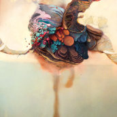 Album Covers. Um projeto de Ilustração, Artes plásticas e Pintura de Alicia Martín López - 10.04.2018