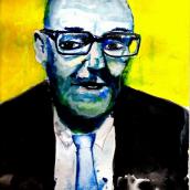 Retrato de Burroughs. Un proyecto de Bellas Artes y Pintura de Sebastián Vaca - 11.04.2018