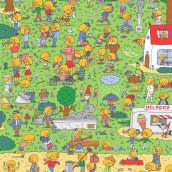 100 Gococos. A Illustration, Design von Figuren und Verlagsdesign project by Gastón Caba - 16.04.2018