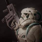 Stormtrooper – Fuck The Force. Um projeto de Ilustração de Juan Saniose - 16.04.2018