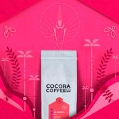 COCORA COFFEE. Um projeto de Br, ing e Identidade, Direção de arte e Packaging de twineich - 01.08.2017