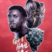 Hail to the King!. Un proyecto de Ilustración, Diseño gráfico, Lettering, Dibujo a lápiz e Ilustración digital de Luis Azueta - 15.03.2018