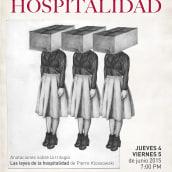 Las leyes de la hospitalidad, afiche. A Graphic Design, Pencil drawing, and Poster Design project by Silvia Trujillo - 04.27.2018