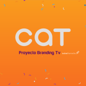 CAT- Branding Tv. A Motion Graphics project by Isabel Heredia - 05.02.2018