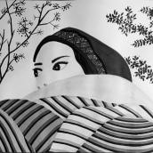Mi Proyecto del curso: Introducción a la ilustración con tinta china. Un proyecto de Pintura de Jhovanna Ordóñez Villegas - 03.05.2018