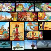 """Concept Art proyecto largo animación """"Genies"""". Um projeto de Ilustração, Cinema, Vídeo e TV, Animação, Artes plásticas, Design de cenários, Animação 2D, Animação 3D, Esboçado, Criatividade, Desenho, Ilustração digital, Stor e telling de Pedro Bascon - 04.05.2018"""