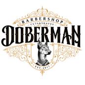 Doberman Barbershop. Un projet de Design , Illustration, T, pographie , et Lettering de Havi Cruz - 10.05.2018