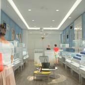 Retail_Diseño de Marca. Un proyecto de Diseño de muebles, Arquitectura interior, Diseño de interiores, Diseño de iluminación y Creatividad de Verónica Seco Fernández - 13.05.2018