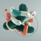 Worms. Un proyecto de 3D, Dirección de arte e Ilustración digital de Javier Torres - 14.05.2018