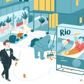 """""""Marionetas S.A"""" de Ray Bradbury. Un proyecto de Diseño de personajes, Ilustración e Ilustración infantil de Susana Gurrea - 01.06.2016"""