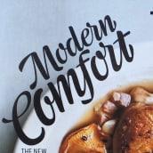 Modern Comfort. Un proyecto de Lettering de Miguel Reyes - 05.06.2018