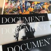Document Journal. Un proyecto de Lettering y Tipografía de Miguel Reyes - 05.06.2018