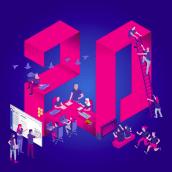 DEISER  20 years making it Diferent. Un proyecto de Diseño, Ilustración, Dirección de arte e Ilustración vectorial de Hugo Tobío - 13.06.2018