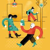 Cuentos para el Andén. Un proyecto de Ilustración de Fran Torres - 14.06.2018