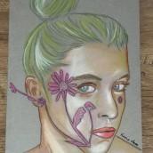 Mi Proyecto del curso: Ilustración con pastel y lápices de colores. Un proyecto de Bellas Artes de Kar Kelevra - 19.06.2018