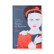 Un paseo por la vida de Simone de Beauvoir. A Illustration, Portrait illustration, and Digital illustration project by Mar Hernández - 06.19.2018