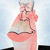 RON PERLMAN. Un proyecto de Ilustración de David García Vivancos - 28.06.2018