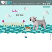 Oh My Dog!. Um projeto de Br, ing e Identidade, Design gráfico e Web design de Catalina Higuera - 01.11.2016