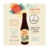 Cervezas La Virgen. Um projeto de Design e Design gráfico de Catalina Higuera - 15.03.2018