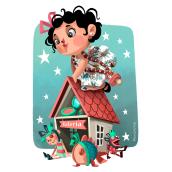 Valeria. Un proyecto de Ilustración de Montse Casas Surós - 06.07.2018