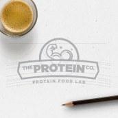 The Protein Co. - Identidad de Marca. Um projeto de Br, ing e Identidade, Design gráfico, Diseño de iconos e Design de logotipo de Daniel Hosoya - 09.07.2018