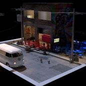 Brasil Bar. Un progetto di 3D di Jandher Oliveira - 12.07.2018