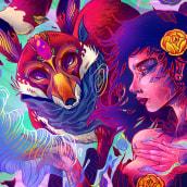 Magia. Um projeto de Ilustração e Ilustração digital de Charringo - 13.07.2018
