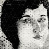 Fay Wray 1920. Un proyecto de Ilustración, Dibujo e Ilustración de retrato de Jon Ander Torres - 16.07.2018