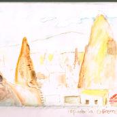 ilustraciones de mi diario de viaje Barcelona Istanbul. A Illustration project by Marina Ruiz Rodríguez - 13.05.2018