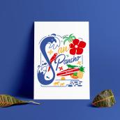 Mi Proyecto del curso: Los secretos dorados del lettering 3.0. Un proyecto de Ilustración de Raquel Labrador - 05.08.2018