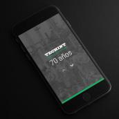 Techint Aniversario. A Br, ing und Identität, Webdesign und Webentwicklung project by Gaston Charles - 08.08.2018