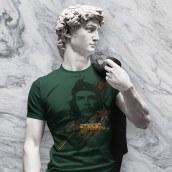 T-Shirts. A Illustration, Mode, Grafikdesign, T, pografie, Digitale Illustration und Prägung project by Gaston Charles - 08.08.2018