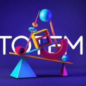 Totem - Modelado 3D. Um projeto de 3D e Modelagem 3D de Florencia Reyes - 10.08.2018