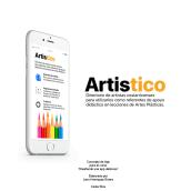 Artistico: Mi Proyecto del curso: Diseña una App deliciosa. Un proyecto de UI / UX de Jairo Henriquez - 12.08.2018