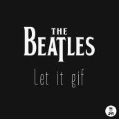 The Beatles - Let it gif. Um projeto de Ilustração, Motion Graphics, Design de personagens, Rigging, Animação de personagens e Animação 2D de jmreggi - 16.08.2018