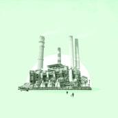 Ganadería industrial y contaminación. A Motion Graphics, Animation, Collage, and 2D Animation project by Mar Torrijos - 08.20.2018
