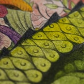 Animals (Lápiz + Acuarela en Papel de Algodón).. A Illustration, Drawing, and Watercolor Painting project by Violeta Hernández - 08.23.2018
