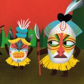 Revista Kiwi #3 Roar. Un proyecto de Diseño, Ilustración, Diseño editorial, Educación, Diseño gráfico e Ilustración digital de Marina Hdez Ávila - 24.06.2018