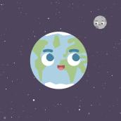 Mi Proyecto del curso: Animación exprés para redes sociales con After Effects. Un proyecto de Ilustración, Publicidad, Animación, Diseño de personajes, Rigging y Animación de personajes de Maria Morell - 28.08.2018