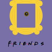 Friends Vectorial. A Illustration, Graphic Design, Vector Illustration, and Poster Design project by Ángela Gutiérrez Graphic Design - 09.05.2018