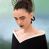 Gala MET 2018. A Illustration, Graphic Design, Poster Design, Portrait illustration, and Realistic drawing project by Ángela Gutiérrez Graphic Design - 09.05.2018