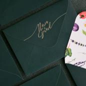 Invitaciones de boda . Un proyecto de Ilustración, Fotografía, Diseño gráfico y Fotografía de producto de Núria Galceran - 06.09.2018