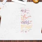 14 de Ferrero. A Design, Lettering, and Watercolor Painting project by Typewear - 09.13.2018